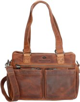 Micmacbags Colorado Schoudertas 16184 Cognac