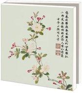 Asian Flowers Wenskaarten Formaat 14 5 X 14 5 Cm