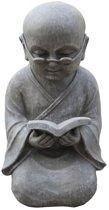 Shaolin met boek | Groot