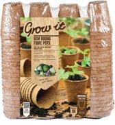 Grow-it - Vezel Pot 6 cm -  96 stuks