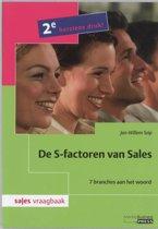 Sales vraagbaak - De S-factoren van Sales