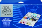 "Cotman aquarelverf ""Painting Plus"" set 12 tubes 8ml"