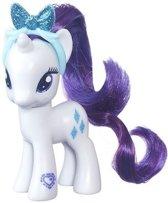 Plastic My Little Pony Rarity speelfiguur 8 cm