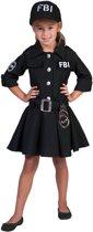 Verkleedpak politie agent meisje FBI Meisje 152 - Carnavalskleding