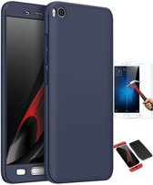 Teleplus Xiaomi Mi 5 S 360 Full Protected Cover Navy Blue + Glass Screen Protector