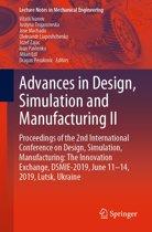 Advances in Design, Simulation and Manufacturing II