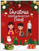 Christmas Coloring Books for Teens: Christmas Coloring Book for Teens, Coloring Books for Kids Ages 4-8, Activity Puzzle Coloring Book for Teens, Chri