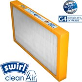 Swirl® G4 WTW Bypass filter voor AWB Airmaster HRD 275/350; Bulex Airmaster HRD 275/350; Vaillant recoVAIR 275/350/350/3;