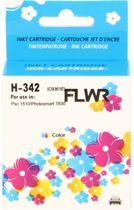 FLWR - Inktcartridge / 342 Kleur - Geschikt voor HP
