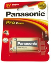 Panasonic 9V Pro Power 6LR - 1 stuk