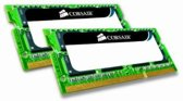 Corsair 8GB DC DDR3 SO-DIMM 1066MHz CL7 8GB DDR3 1066MHz geheugenmodule