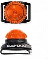 EzyDog Adventure Light - groot - oranje