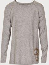 Creamie - meisjes shirt - model Caroline - grijs - Maat 116