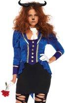 Beastly Beauty kostuum - S/M - Multicolours - Leg Avenue