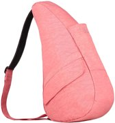 Healthy Back Bag Textured Nylon met Ipad vak Geranium Small 6303- GE