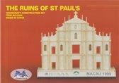 3D Puzzel Bouwpakket St Pauls ruines - hout