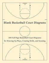Blank Basketball Court Diagrams