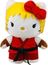 Street Fighter X Sanrio - Hello Kitty Ken Pluche 25cm