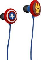 Iron Man in-ear koptelefoons (Marvel Avengers)