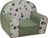 Luxe kinderstoel - kinderfauteuil - sofa - 60 x 45 - grijs - kitty