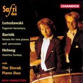 Lutoslawski, Bartok, Helweg / Safri Duo, Slovak Piano Duo