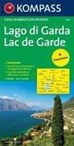 Gardasee 1 : 125 000. Autokarte mit Panorama