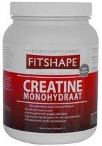 Fitshape - Creatine Monohydraat - Sportvoeding - 500 gram