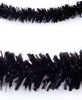 Slinger brandvertragend zwart 10m plastic