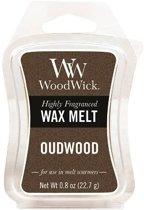 Woodwick Wax Melt Oudwood 3 stuks