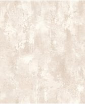 Textured Plains beton beige behang (vliesbehang, beige)