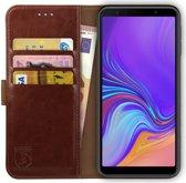 Rosso Element Samsung Galaxy A7 2018 Hoesje Book Cover Bruin