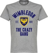 Wimbledon Established T-Shirt - Grijs - XL