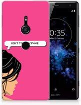 Sony Xperia XZ2 Uniek TPU Hoesje Woman DTMP