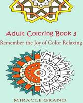 Adult Coloring Book 3