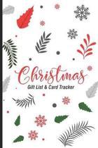Christmas Gift List & Card Tracker