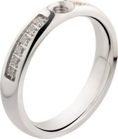 Melano Twisted Tracy CZ ring - dames
