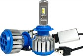 LED koplampen set / H3 fitting / Waterproof / 35W 3500 lumen per lamp (7000 totaal)