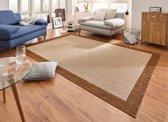 Modern vloerkleed Simple - bruin 80x150 cm