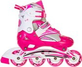 Move Eve Inlineskates - Maat 38-41 - wit/roze