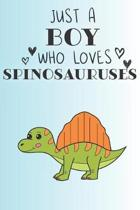 Just A Boy Who Loves Spinosauruses