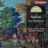 Stamitz: Four Symphonies / Bamert, London Mozart Players