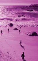 Alive! little penguin friends - Magenta duotone - Photo Art Notebooks (5 x 8 series)