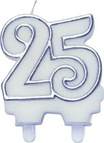 Cijferkaars zilver ''25''