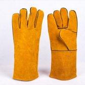 RX Goods® 2 Stuks Premium Veiligheid Lashandschoen van Leer - Bescherming tot 300 graden