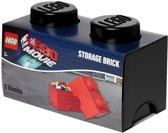 Lego Opbergbox Brick 2 Movie Zwart
