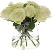 Riverdale Flowers - Vaas - 15cm - transparant