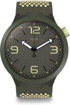 Swatch Big Bold Blanco Horloge  - Beige