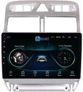Navigatie radio Peugeot 307 2004-2013, Android 8.1, Apple Carplay, 9 inch scherm, Canbus,