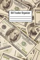 Bill Tracker Organizer: Bill Tracking Organization Notebook 6x9 120 Pages Document Month To Month Expenses