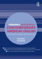 Omslag van 'A Frequency Dictionary of Contemporary American English'